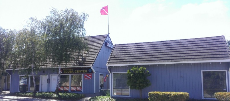 Exterior View of Scuba Shop